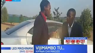Video inayoiga tukio la mkutano kisiasa ambapo yakisemwa wakenya wanachangia mtandaoni