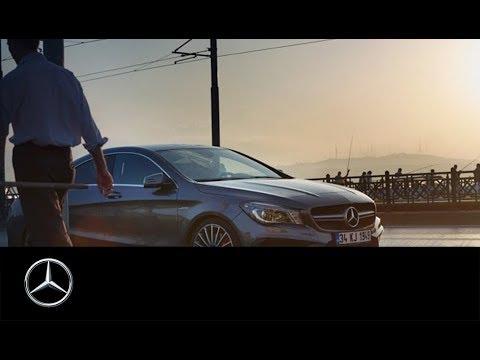 Mercedes Benz  Cla Class Coupe Купе класса C - рекламное видео 6