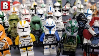 Every Lego Clone Trooper Ever Made!!! 2019 Update
