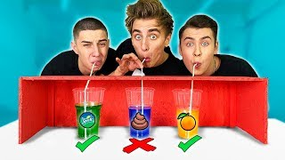 CHOOSE THE RUGHT STRAW CHALLENGE !