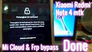 How To Xiaomi Redmi Note 4 2016050 MTK CPU Remove Mi Account