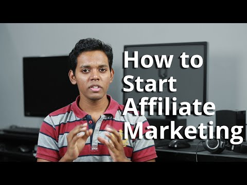How to Start Affiliate Marketing in India - A Beginner's Guide