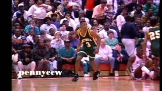 Allen Iverson RARE Bethel high school highlights *Basketball state champion