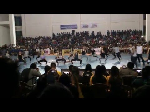 MSL (Mizoram Super League) Grand Finale 2015,  Dance Show at Hawla Indoor Stadium
