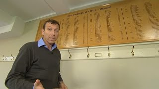 Former England captain Mike Atherton takes a tour of the Lord's pavilion