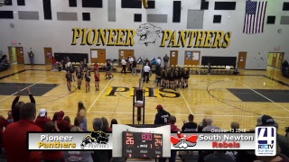 IHSAA Volleyball Sectional Finals @ Pioneer - Pioneer vs South Newton