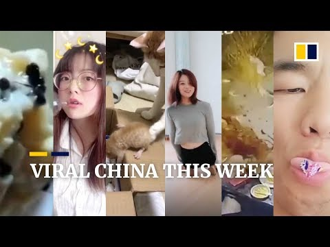 Viral China this week: Woman turns herself into 'human bubble machine' and more