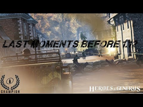 Enjoying HnG Before Update 1.12 | Heroes and Generals Compilation