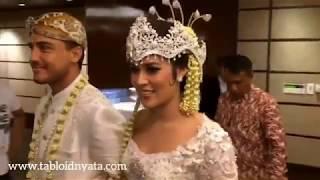 Raisa Hamish Wedding - Tabloid Nyata