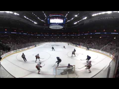 360º NHL Highlight: Giordano scores with six seconds left to force overtime