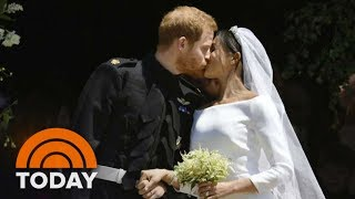 Royal Wedding: Harry And Meghan Leave St. George's Chapel As Husband And Wife | TODAY - Video Youtube