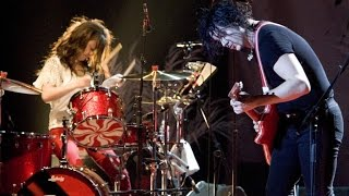 [HD] The White Stripes - Death Letter/Grinnin' In Your Face || Lyrics On Screen!