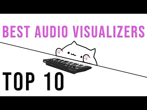 Wallpaper Engine (Steam) + RGB + Audio Visualizer!!!!!!!! - смотреть