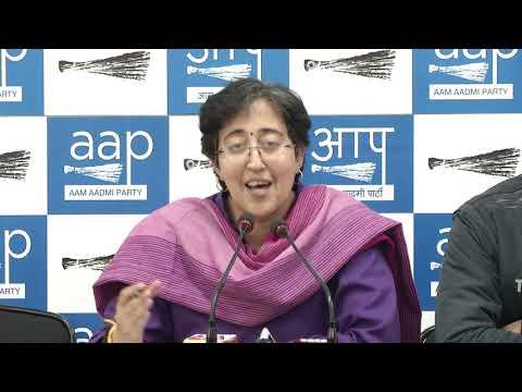 AAP Leader Atishi Briefs of SC Judgement on Delhi Vs Center