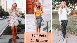 Work Outfit Ideas | Loft Fall Try On Haul 2019