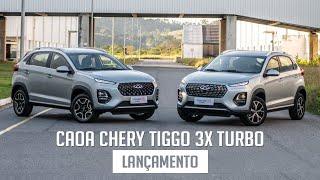 CAOA Chery Tiggo 3x Turbo - Lançamento