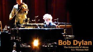 Tryin' To Get To Heaven - Bob Dylan @ EJ Thomas Hall, Akron - Nov. 3, 2017 (live concert audio)