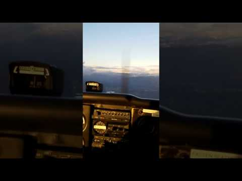 Commercial pilot barrel roll in Cessna 172