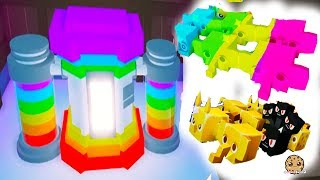Rainbow + Gold Maker Machine ! Roblox Pet Simulator 2 Online Game Video