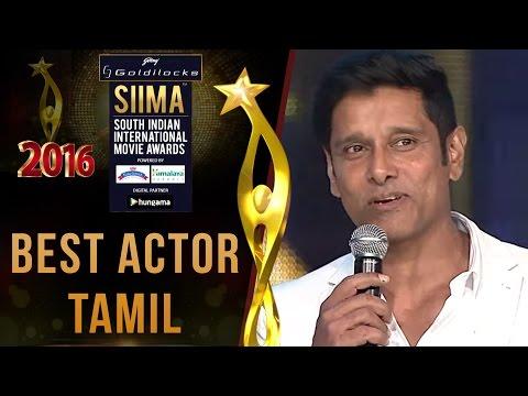 SIIMA 2016 Best Actor Tamil   Vikram - I Movie