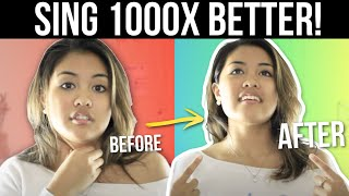 HOW TO SING BETTER for BEGINNERS?