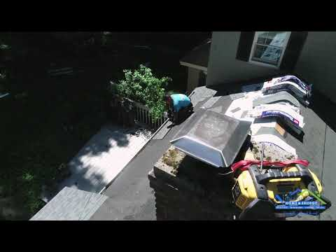 Hey everyone! Check out this new Before & After full version drone video of a roof replacement we did on this home in Holden, MA. It was in DESPERATE need of some TLC and a new roof was just what it needed! We stripped the existing old shingles and replaced them with a brand new GAF Timberline HD Pewter Gray roofing system. What an impact this made! Let us know what you think!