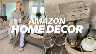 AMAZON HOME DECOR HAUL | Julia & Hunter Havens