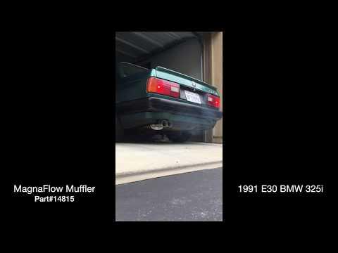 e30 325i Magnaflow Exhaust sound - смотреть онлайн на Hah Life
