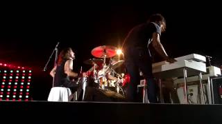 """Foo Fighters - """"Stiff Competition"""" Cheap Trick cover (Dave Grohl on drums)"""