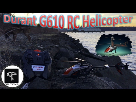 GP Toys Durant G610 RC Helicopter Review