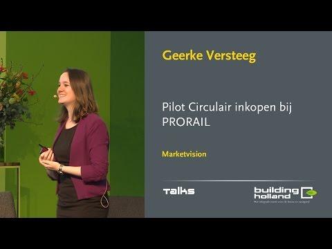 Pilot Circulair inkopen bij PRORAIL - Geerke Versteeg