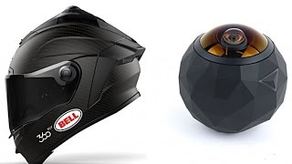 new Bell unveils smart HELMET with 360 fly camera integration