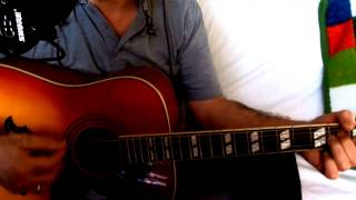 Solitary Man ~ Neil Diamond ~ Chris Isaak ~ Acoustic Cover w/ Epiphone Dove Pro & Bluesharp