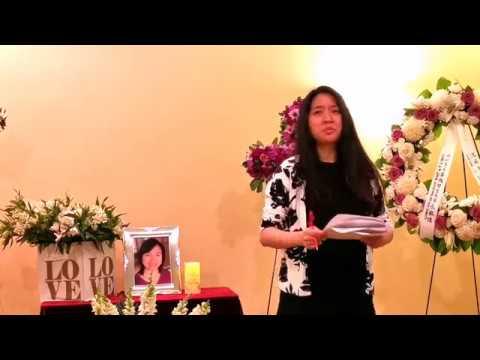 Kathy Ke Memorial Service 2019/04/27 (5) Old Friend Speech
