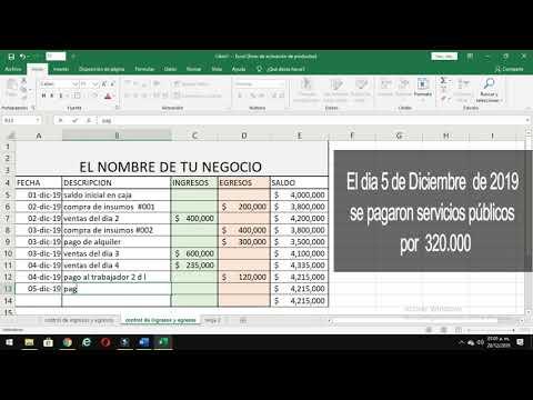 , title : '🤑COMO LLEVAR LA CONTABILIDAD DE UN NEGOCIO PEQUEÑO  |🚀 Contabilidad para emprendedores #001'