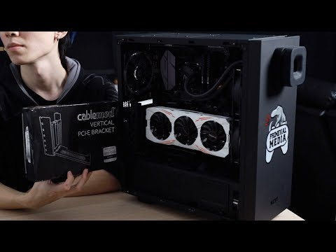 Download Best Way To Display Your GPU Vertically? - CableMod Vertical PCI-E Bracket HD Mp4 3GP Video and MP3