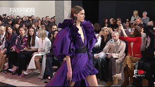 ELIE SAAB Womens Fall 2020 Paris - Fashion Channel