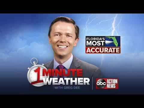 Florida's Most Accurate Forecast with Greg Dee on Tuesday, July 25, 2017