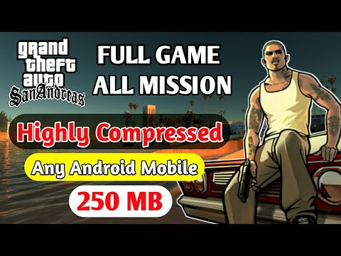How to download GTA San game 150 MB original game highly compressed