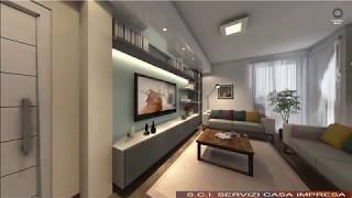 Zona soggiorno - Rendering 360 gradi