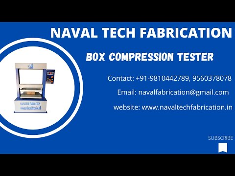NTF Box Compression Tester