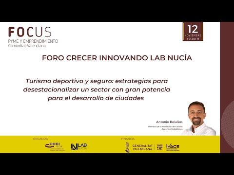 IV Foro Crecer Innovando Lab Nucia - Turismo deportivo y seguro