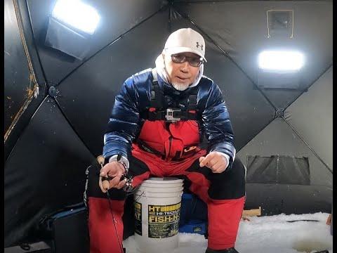 2021冰钓行之五 顶风冒雪战花花