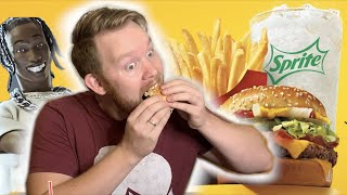 Trying the Travis Scott McDonald's Meal