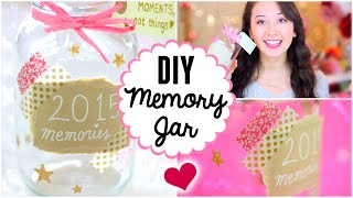 DIY Memory Jar ♡ Tumblr & Pinterest Inspired
