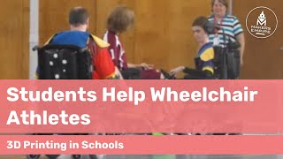 How Roseworthy PS Students Are Helping Wheelchair Athletes with 3D Printing