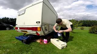 Caravan Video Part 6 Setting Up On The Site
