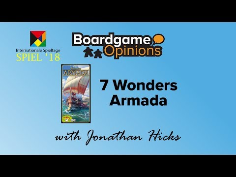 Boardgame Opinions: 7 Wonders: Armada