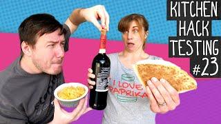Kitchen Hack Testing Episode 23 - The accidental TikTok special