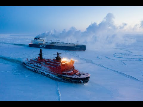 Ice Breakers Taking on the Frozen Waters of the North